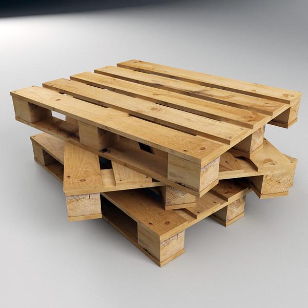 Pallet gỗ tự nhiên